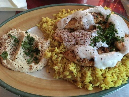 Chicken Shawarma - Picture of Mediterranean Kitchen, Bellevue ...