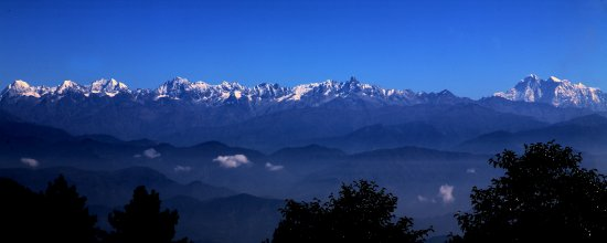 Nagarkot, Nepal: himalayan views