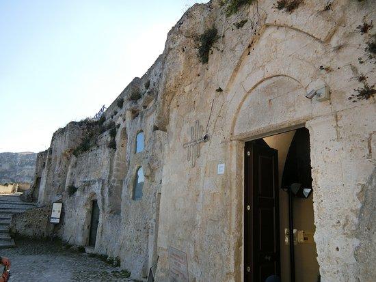 Chiesa rupestre di Santa Lucia alle Malve: 教会の全景