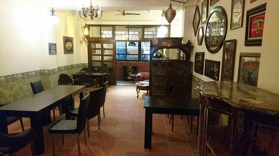 歐洲古董藝術咖啡