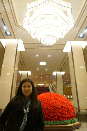 Imperial Hotel Tokyo: another part of the huge lobby