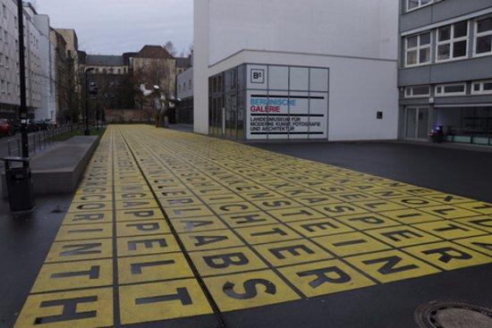 Berlinische Galerie Big Letters Picture Of Berlinische Galerie