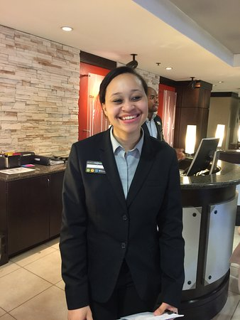 ‪هيلتون جاردن إن أوستن داون تاون: One of the Friendly hotel staff who went out of her way to help me‬