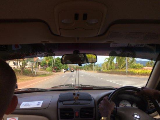 Sepang, Malasia: В такси. Впереди долгий отдых и впечатления...