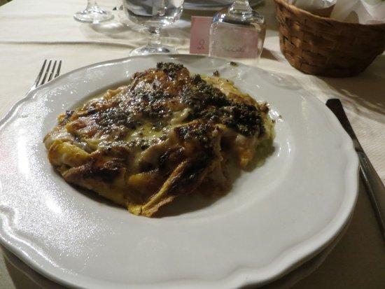 Radicofani, Italië: Lasagne alla Valdorciana