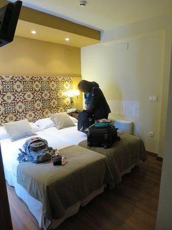 Hospederia del Atalia: Small twin room