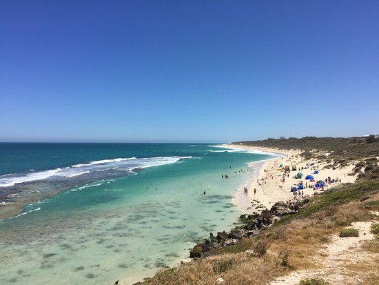 Yanchep, Australie : View from the main road above
