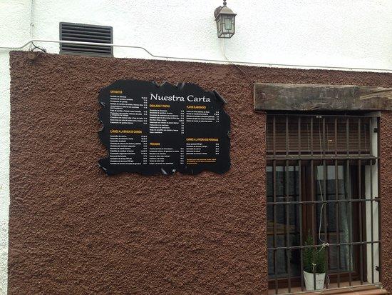 Leandro: Exterior del restaurante