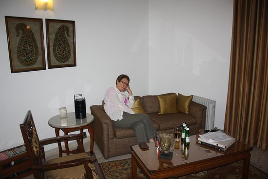 Thikana: Just one of the lounge areas