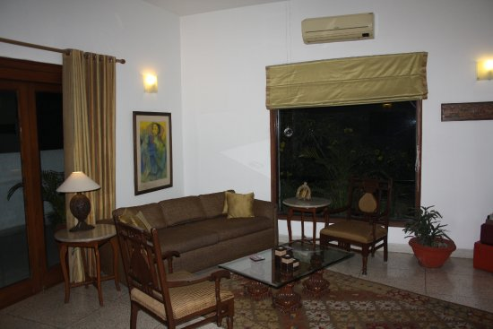Thikana: Part of the dining room/lounge