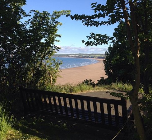 Filey, UK: Sit here and take in the veiw