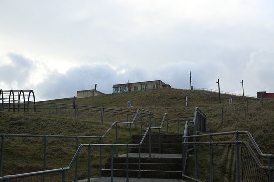Blaenavon, UK: A view of the bathhouse which is now the cafe.
