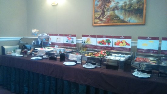 Nikolayevskiy Hotel Club : Завтрак-шведский стол