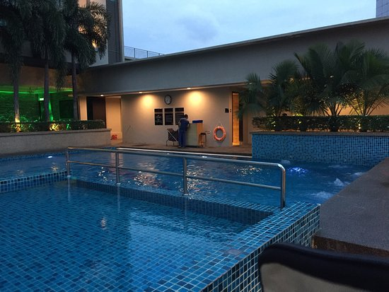 Not big but nice swimming pool picture of the light hotel penang seberang jaya tripadvisor for Nice hotels with swimming pool