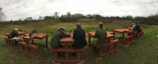 Ashbourne, UK: Rifle Shooting (+ Archery, Clay, Cross Bow & Pistols)