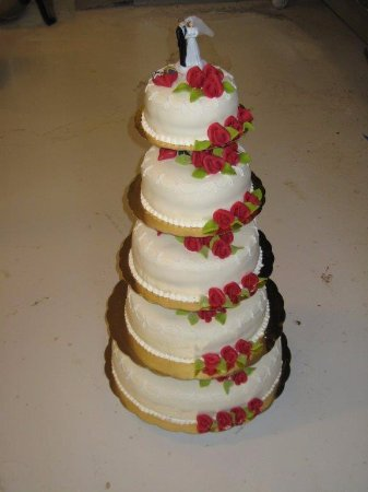 Taby, Szwecja: Klassisk Bröllopstårta