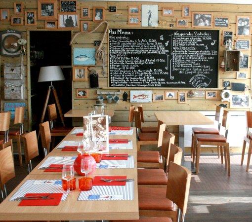 Salle De Restaurant Bild Fr 229 N Camping Port Land Port En Bessin Huppain Tripadvisor