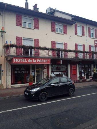 Douvaine, France: Vue côté route