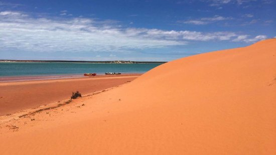 Denham, Australia: Another amazing day in the great outdoors