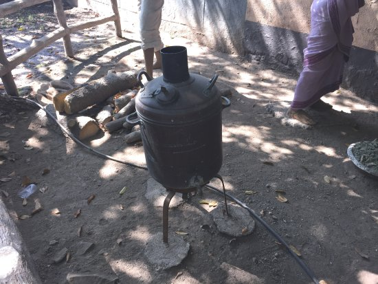 Water-heater or boiler. - Picture of Sai Heritage Village, Shirdi ...