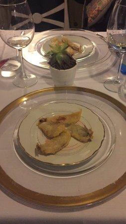 Ristorante Il Bistrot: Aperitivo con alici fritte!