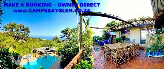 Camps Bay Glen: studio A main house - special rates from official website campsbayglen.co.za