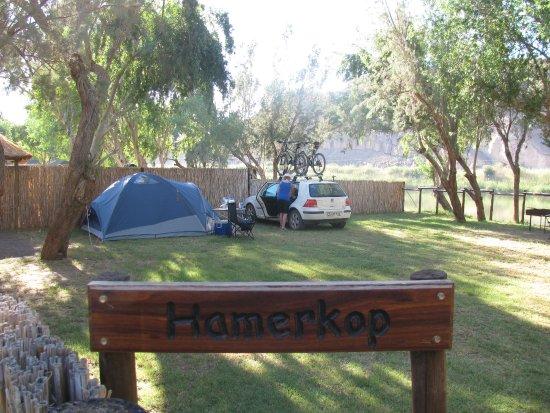 Noordoewer, Namibia: Hamerkop Campsite