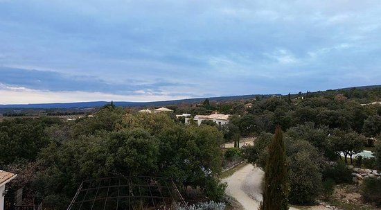 "Saint-Saturnin-les-Apt, France: View over the Valley from ""Eden"" Room"