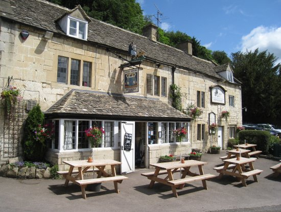 Entrance - Picture of The Butchers Arms, Sheepscombe - Tripadvisor