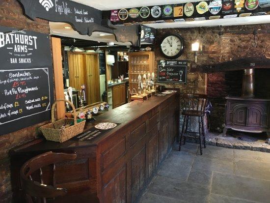 Restaurant at The Bathurst Arms Photo