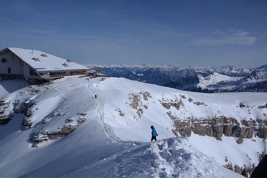 Unterwasser, Suiza: Gipfelrestaurant Chäserrugg