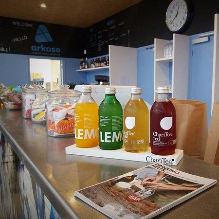 Massy, France: Thé glacé et limonade bio