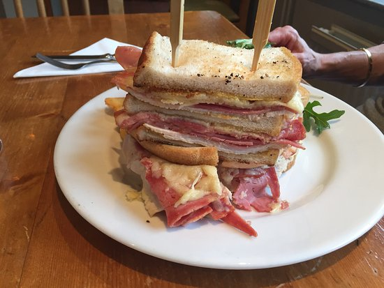 Wantage, UK: How about that for a Croque Monsieur