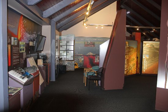 Whakapapa, Nieuw-Zeeland: Visitor center館内の展示物が見学前に参考になります。
