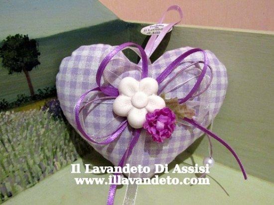 Bomboniere Matrimonio Lavanda.Cuore Con Lavanda Bomboniere Matrimonio Originali Picture Of Il