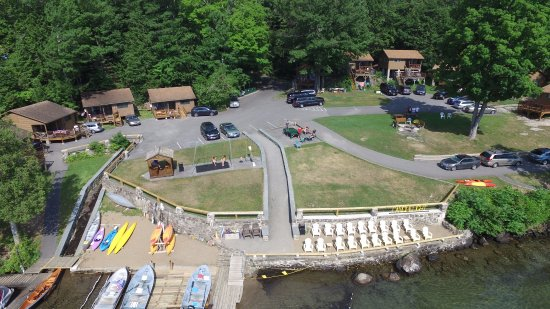 Candlelight Cottages LLC on Lake George: Easy access to 300 feet of  lakefront