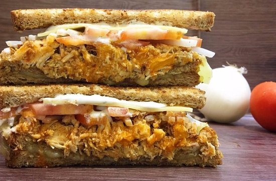 Sandwich Guys Buffalo Chicken Slow Cooked Buffalo Chicken Breast Topped With Cheese