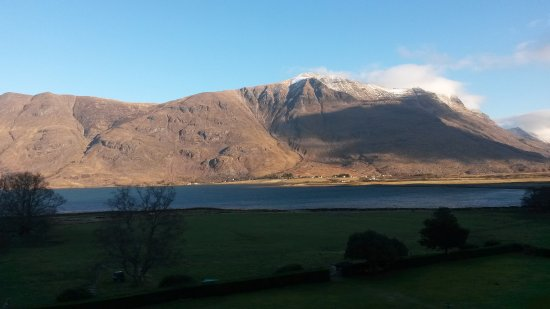 Torridon, UK: Morning view from room