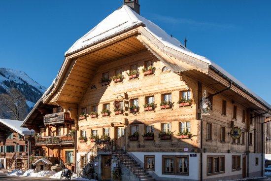 Rossinière, Suiza: Hotel de Ville Rossiniere