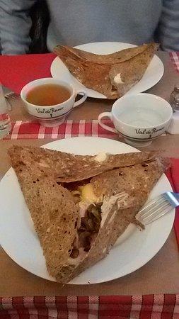 Crêperie Brocéliande: Crepes salate