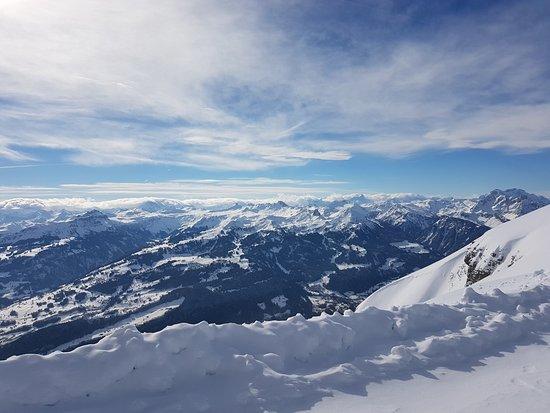 Unterwasser, Suiza: Chäserrugg Panorama Weg