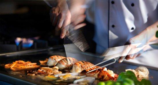 Woluwe-Saint-Lambert, Belgien: Teppanyaki du soir