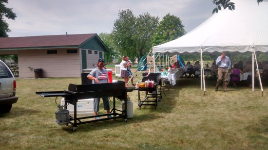 Company picnic in New Prague