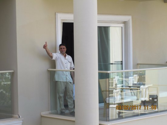 Premier Le Reve Hotel & Spa (Adults Only): Mohammed, our room boy for the second time on visiting!