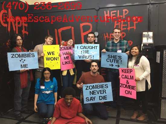 Room Escape Adventures: Always a fun time running for your brains!