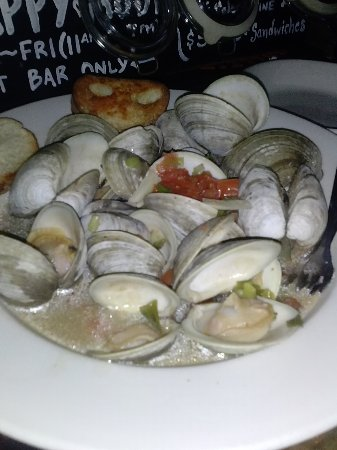 Asbury Park, NJ: Love the drunken clams
