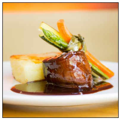 Gilda by Belgious : Filet pur with gratin Dauphinois and demi-glace sauce