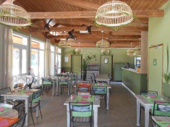 Villars-les-Dombes, Francia: Restaurant du camping