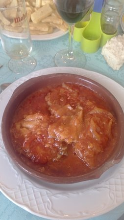 Triollo, Spanien: Bacalao