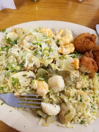 Sam's Crystal River Seafood: Scampi fiesta, yum!